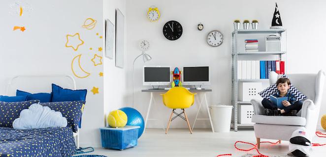 Progettare la cameretta dei bambini idee e consigli for Progettare la cameretta