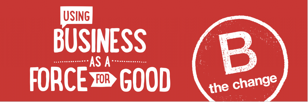 B corp - business as a force for good